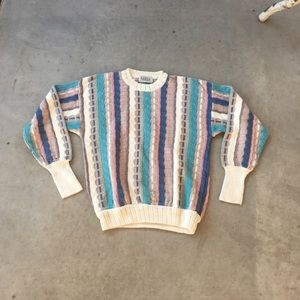 Coogi-style sweater